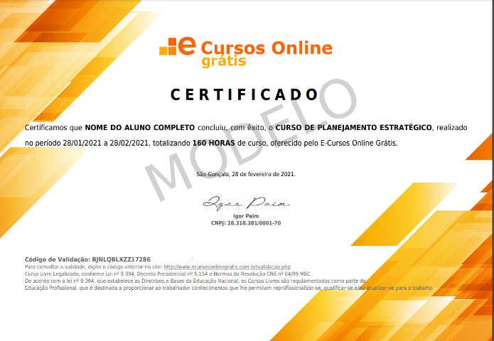 E Cursos Online Gratis Cursos Gratuitos Com Certificado Valido